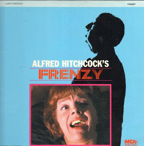 Frenzy - Frenzy - The Alfred Hitchcock Classic on LASER DISC (This is a LASER DISC, not any other kind of media!) - NM9/NM9 - Laser Discs
