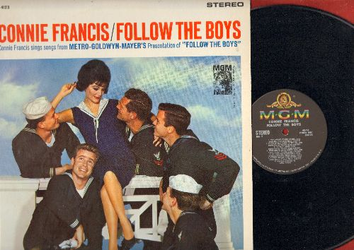 Francis, Connie - Follow The Boys - Connie Francis Sings Songs From The Original Motion Picture Sound Track (vinyl STEREO LP record) - NM9/NM9 - LP Records