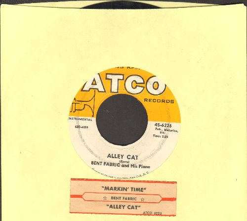 Fabric, Bent & His Orchestra - Alley Cat (FAVORITE FOR BEGINNERS' TAP DANCING)/Makin' Time (with juke box label) - EX8/ - 45 rpm Records