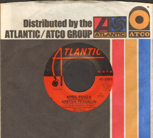 Franklin, Aretha - April Fools/All The King's Horses (with company sleeve) - NM9/ - 45 rpm Records