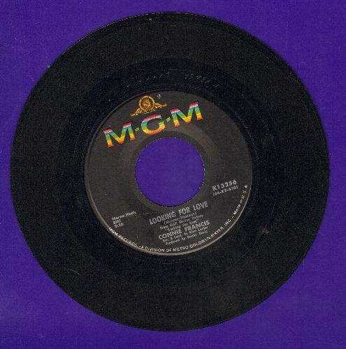 Francis, Connie - Looking For Love/This Is My Happiest Moment  - EX8/ - 45 rpm Records