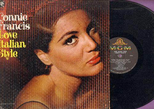 Francis, Connie - Love Italian Style: Souvenir D'Italie, Tarantella, Scalinatella (Stairway To The Sea) (vinyl MONO LP record) - NM9/EX8 - LP Records