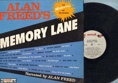 Freed, Alan - Alan Freed's Memory Lane: Sincerely, Tears On My Pillow, Eddie My Love, Goodnight My Love (Vinyl MONO LP record) - VG6/EX8 - LP Records