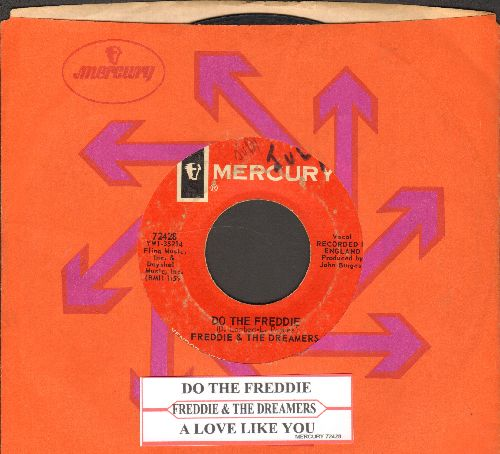 Freddie & The Dreamers - Do The Freddie/Tell Me When (with juke box label and Mercury company sleeve) (minor wol) - VG6/ - 45 rpm Records