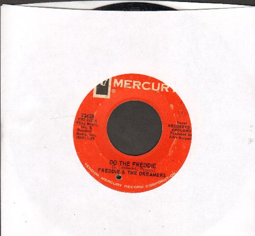 Freddie & The Dreamers - Do The Freddie/Tell Me When (bb) - VG7/ - 45 rpm Records