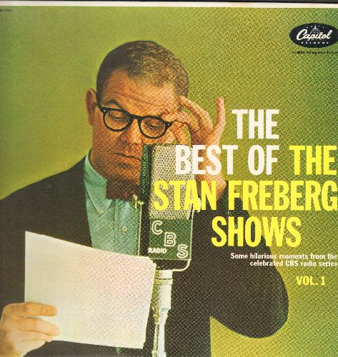 Freberg, Stan - The Best Of The Stan Freberg Shows Vol. 1: Elderly Man River, Tuned Sheep, Face The Funnies, more! (vinyl LP record, re-issue of vintage Comedy recordings) - NM9/NM9 - LP Records