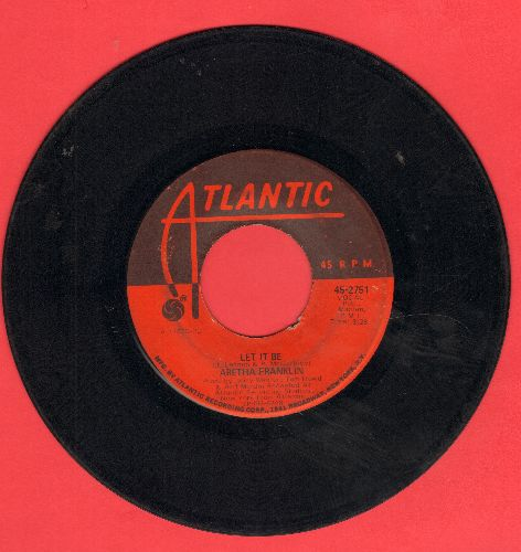 Franklin, Aretha - Let It Be/Don't Play That Song  - VG7/ - 45 rpm Records