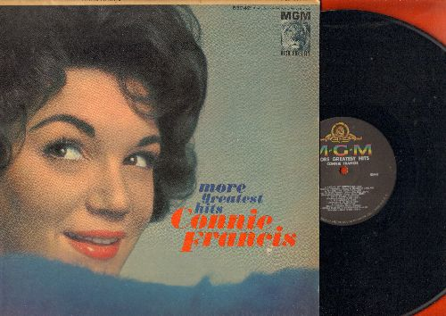 Francis, Connie - More Greatest Hits: Everybody's Somebody's Fool, Mama, God Bless America, Many Tears Ago, Valentino (Vinyl MONO LP record) - NM9/EX8 - LP Records