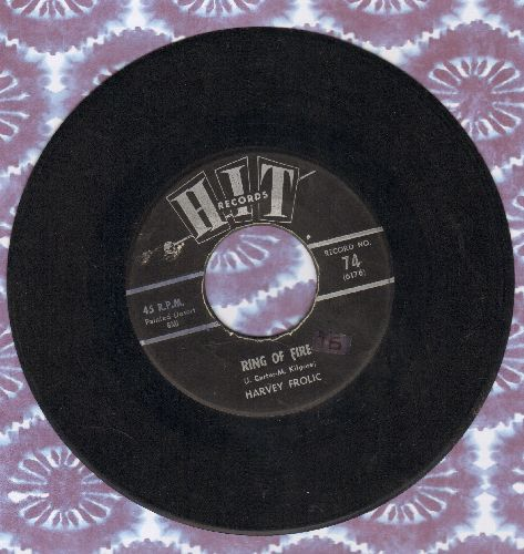Frolic, Harvey - Ring Of Fire/On Top Of Spaghetti (cover versions of contemporary hits) (sol) - EX8/ - 45 rpm Records