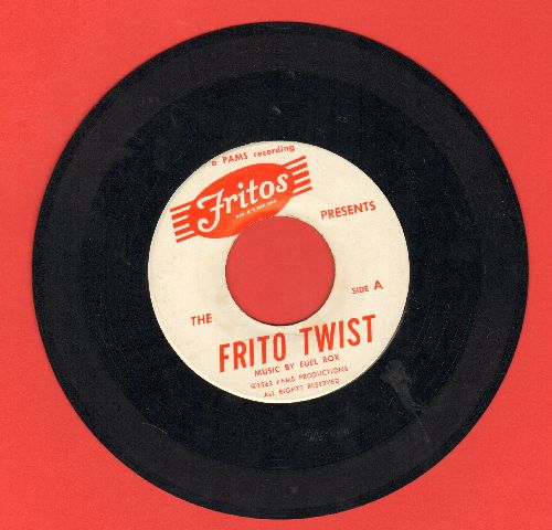 Euel Box - Frito Twist/How To Twist  - EX8/ - 45 rpm Records
