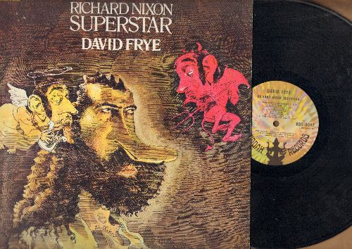 Frye, David - Richard Nixon Superstar - Classic Political Comedy Album (vinyl STEREO LP record) - NM9/VG7 - LP Records