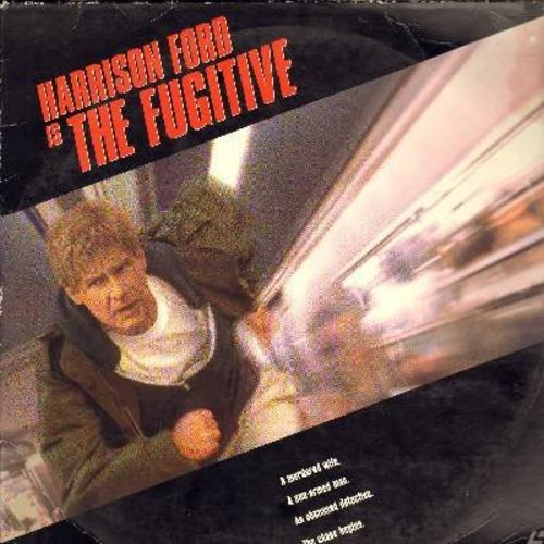 The Fugitive - The Fugitive - The Hollywood treatment of the Classic TV Series, starring Harrison Ford and Oscar Winner Tommy Lee Jones  (This is a set of 2 LASERDISCS, NOT ANY OTHER KIND OF MEDIA!) - NM9/VG7 - LaserDiscs
