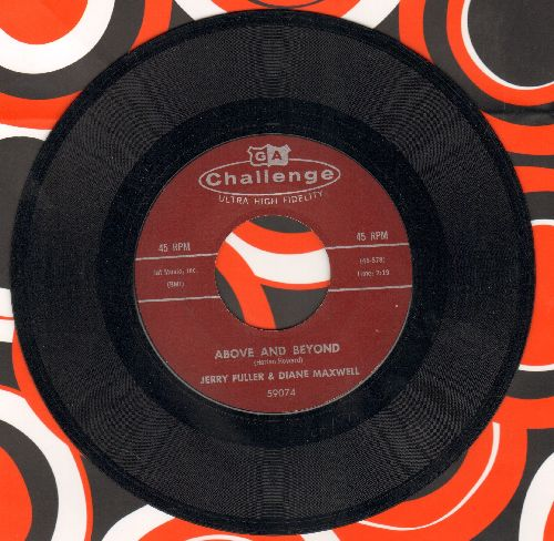 Fuller, Jerry & Diane Maxwell - Above And Beyond/One Heart - EX8/ - 45 rpm Records