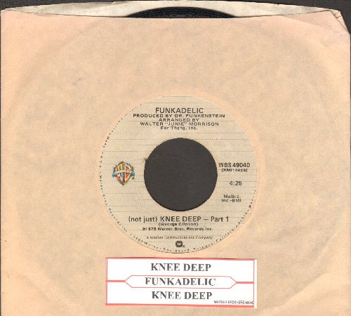 Funkadelic - (Not Just) Knee Deep (Parts 1 + 2) (with company sleeve and juke box label) - VG7/ - 45 rpm Records