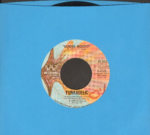 Funkadelic - Loose Booty/A Joyful Process (minor wol) - VG7/ - 45 rpm Records