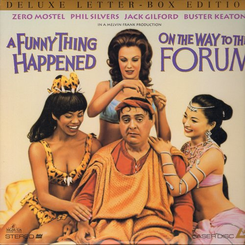 A Funny Thing Happened On The Way To The Forum - A Funny Thing Happened On The Way To The Forum - LASERDISC VERSION version of the 1966 Comedy Classic (This is a LASERDISC VERSION, not any other kind of media!) - NM9/NM9 - LaserDiscs