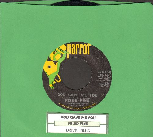 Frijid Pink - Frijid Pink (with juke box label) - EX8/ - 45 rpm Records