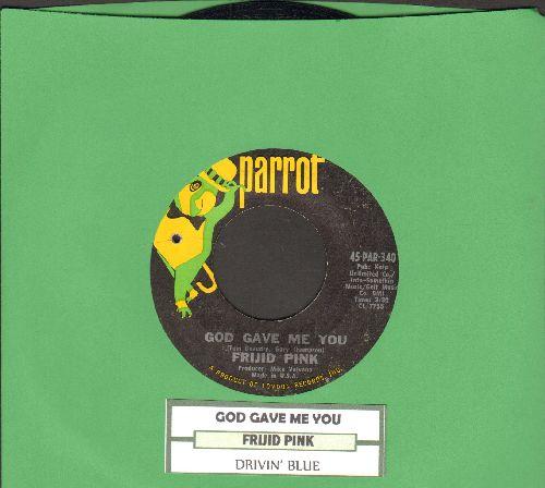 Frijid Pink - Frijid Pink (with juke box label) - EX8/ - 45 rpm Records
