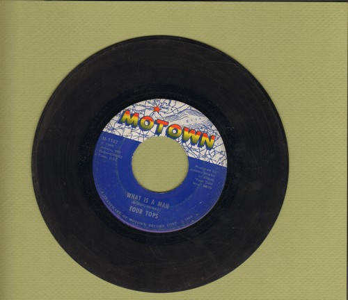 Four Tops - What Is A Man/Don't Bring Back Memories - EX8/ - 45 rpm Records
