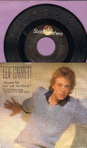 Garrett, Leif - Runaway Rita/Just Like A Brother (with picture sleeve) - NM9/EX8 - 45 rpm Records