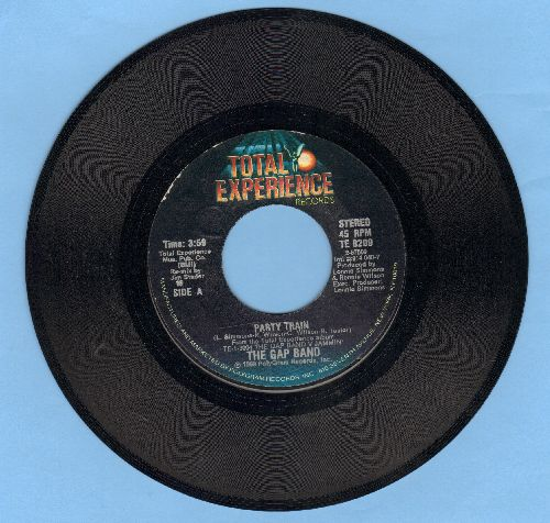 Gap Band - Party Train/Party Train - NM9/ - 45 rpm Records