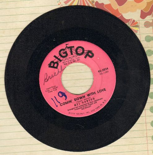 Gadson, Mel - Comin' Down With Love/I'm Getting Sentimental Over You (wol) - EX8/ - 45 rpm Records