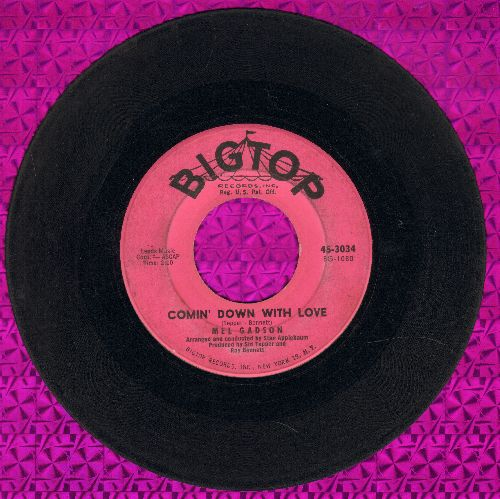 Gadson, Mel - Comin' Down With Love/I'm Getting Sentimental Over You - VG6/ - 45 rpm Records