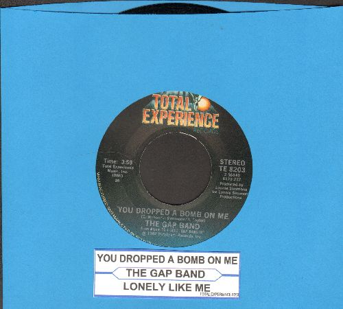Gap Band - You Dropped A Bomb On Me/Lonely Like Me (with juke box label) - EX8/ - 45 rpm Records