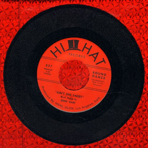 Garf, Gene & His Orchestra - Ain't She Sweet/Mood Indigo - NM9/ - 45 rpm Records