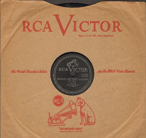 Gale, Sunny - Goodnight, Sweetheart, Goodnight/Call Off The Wedding (10 inch 78rpm record with RCA company sleeve) - EX8/ - 78 rpm