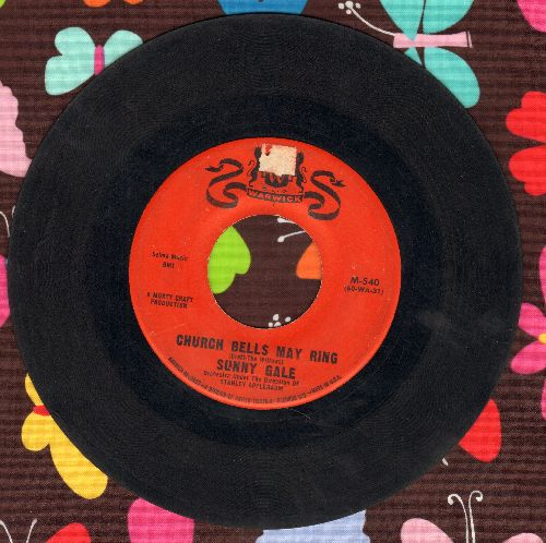 Gale, Sunny - Church Bells May Ring (Overlooked FANTASTIC Version of the Vintage Rock & Roll Classic!)/My Foolish Heart  - VG6/ - 45 rpm Records