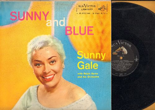 Gale, Sunny - Sunny And Blue: Ain't Misbehavin', The Man I Love, On The Sunny Side Of The Street, Happiness Is A Thing Called Joe (vinyl MONO LP record) - EX8/EX8 - LP Records