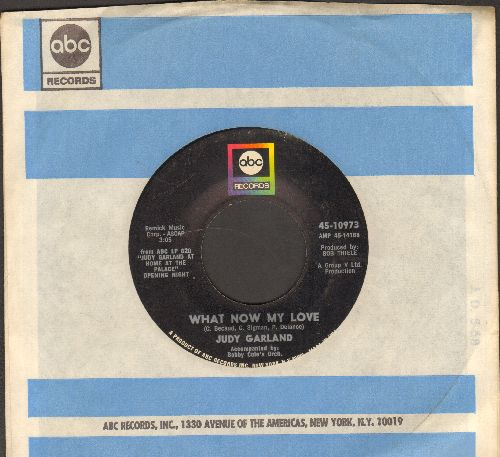 Garland, Judy - What Now My Love/I Feel A Song Coming On (with ABC company sleeve) - EX8/ - 45 rpm Records