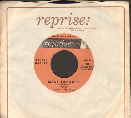 Garner, Erroll - Mack The Knife/Sweet And Lovely (with Reprise company sleeve) - NM9/ - 45 rpm Records