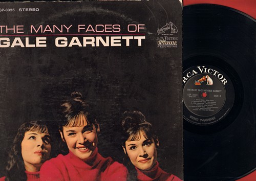 Garnett, Gale - The Many Faces Of Gale Garnett: Excuse Me Mister, Marionette, I Wish You Were Here, St. James Infirmary (Vinyl STEREO LP record) - NM9/VG7 - LP Records