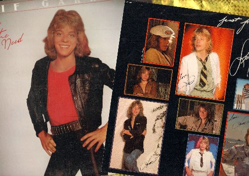 Garrett, Leif - Feel The Need: I Was Made For Dancin', Groovin', Sheila, Fun Fun Fun, This Time (Vinyl STEREO LP record with BONUS perferated pictures on sheet) - NM9/EX8 - LP Records