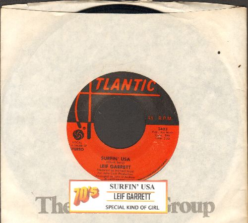 Garrett, Leif - Surfin' USA/Special Kind Of Girl (with juke box label and Atlantic company sleeve) - EX8/ - 45 rpm Records