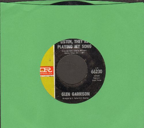 Garrison, Glen - Listen, They're Playing Our Song/My New Creation - EX8/ - 45 rpm Records