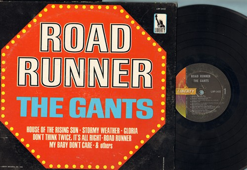 Gants - Road Runner: Stormy Weather, Gloria, The House Of The Rising Sun, Bad Boy, My baby Don't Care (Vinyl MONO LP record) - VG7/EX8 - LP Records