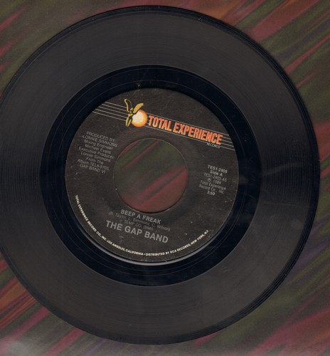 Gap Band - Beep A Freak (Long and Short version of Disco Noewlty) - NM9/ - 45 rpm Records