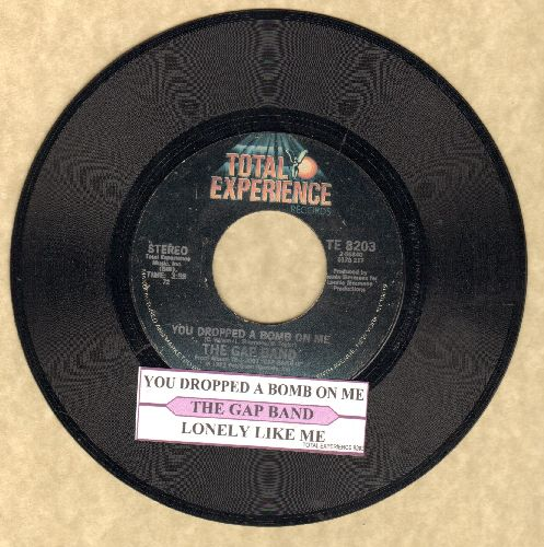 Gap Band - You Dropped A Bomb On Me/Lonely Like Me (with juke box label) - NM9/ - 45 rpm Records