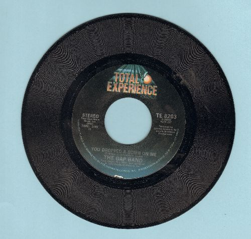 Gap Band - You Dropped A Bomb On Me/Lonely Like Me (with Total Experience copay sleeve) - NM9/ - 45 rpm Records