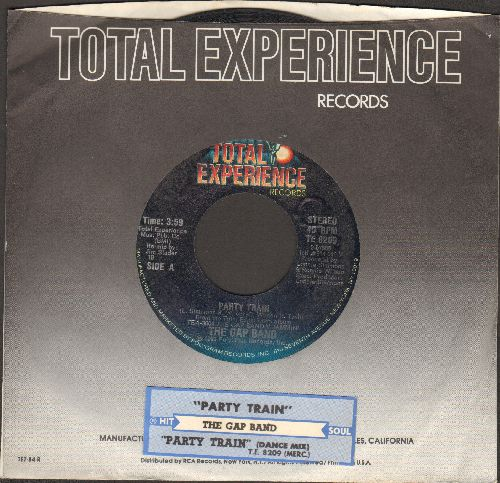 Gap Band - Party Train (Edited Dance Mix)/Party Train (with company sleeve and juke box label) - EX8/ - 45 rpm Records