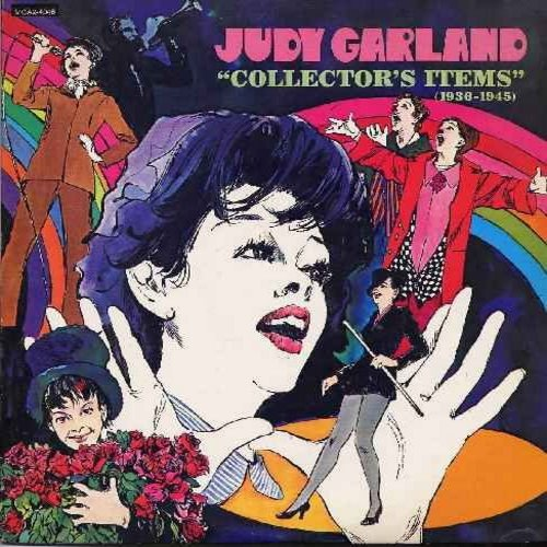 Garland, Judy - Judy Garland - Collector's Items (1936-1945): Swanee, Embraceable You, I Got Rhythm, Swing Mister Charlie, Stompin' At The Savoy, All God's Children Got Rhythm, Everybody Sing (2 vinyl LP record set - 1970s issue of original 1930s & 40s re
