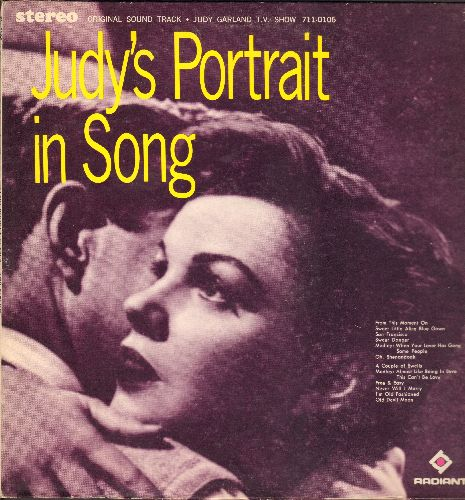 Garland, Judy - Judy's Portrait In Song Original Sound Track From The T.V. Show): San Francisco, Old Devil Moon, Oh Shenandoah, A Couple Of Swells (vinyl STEREO LP record) - NM9/EX8 - LP Records