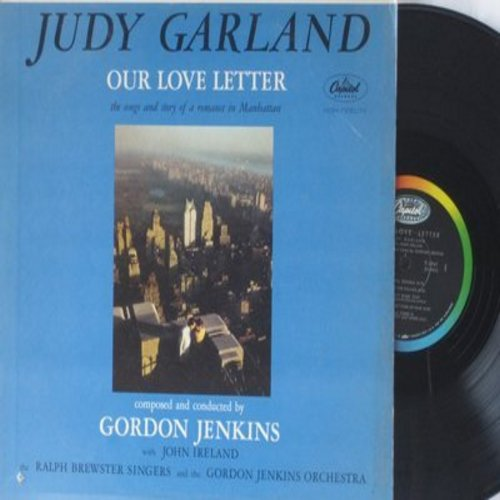 Garland, Judy - Our Love Letter: Beautiful Trouble, Love In The Village, The Red Balloon, At The Stroke Of Midnight (Vinyl MONO LP record) - M10/EX8 - LP Records