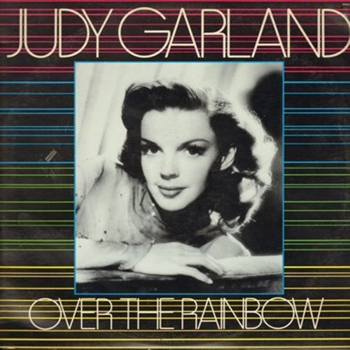 Garland, Judy - Over The Rainbow - Judy Garland's Best-Loved Songs, many recorded before a LIVE audience (Vinyl LP record) - NM9/NM9 - LP Records