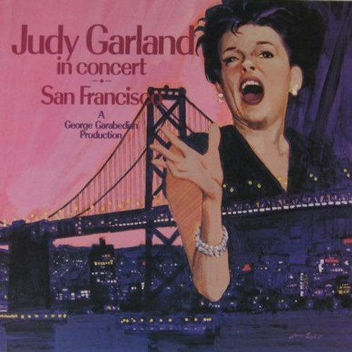 Garland, Judy - Judy Garland In Concert - San Francisco (Vinyl LP record) - EX8/NM9 - LP Records