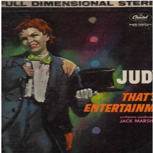 Garland, Judy - Judy! That's Entertainment: Who Cares?, Puttin' On The Ritz, Old Devil Moon, Just You Just Me, Alone Together (Vinyl STEREO LP record, rainbow circle label) - EX8/VG6 - LP Records