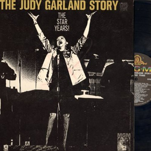 Garland, Judy - The Judy Garland Story - The Star Years: Get Happy, I Don't Care, Johnny One Note (Vinyl MONO LP record, gate-fold cover) - NM9/EX8 - LP Records